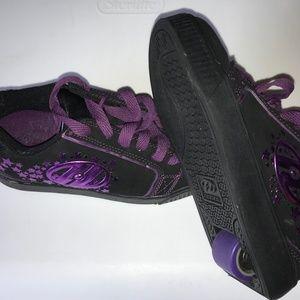 Girl's Heeleys Youth Size 3 Purple